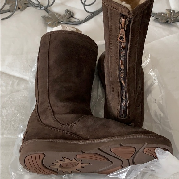 UGG Shoes | Boots With Zipper In Back